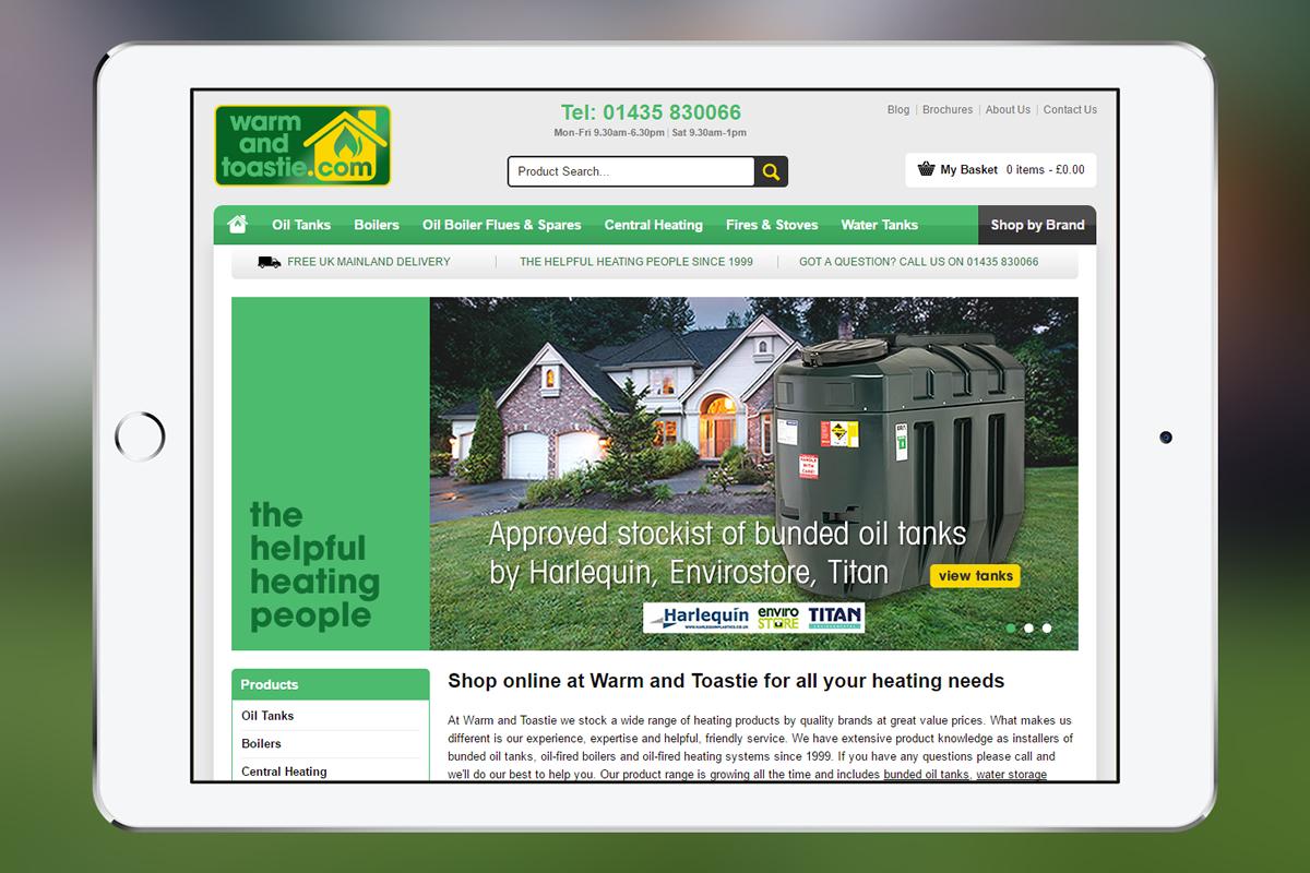 Warm and Toastie: E-Commerce Web Design Case Study